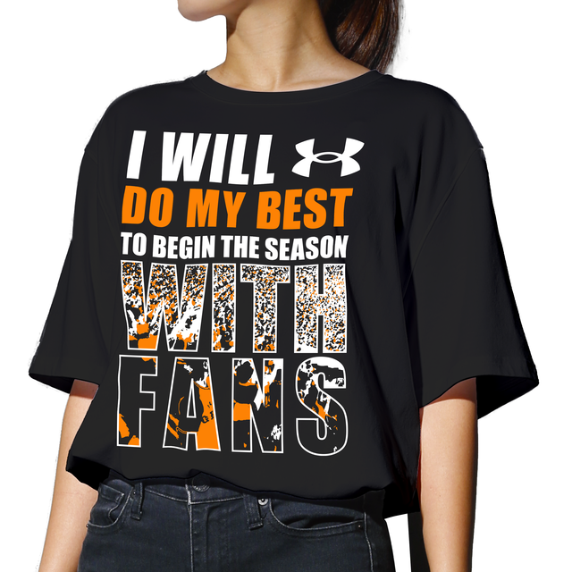 UA GIANTS WITH FANS Tシャツ【全2色】